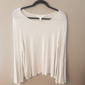 LC Lauren Conrad Peasant Top